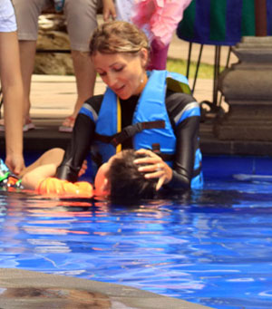 dolphin therapist juliya